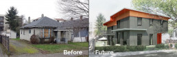 Passive Home Before and After